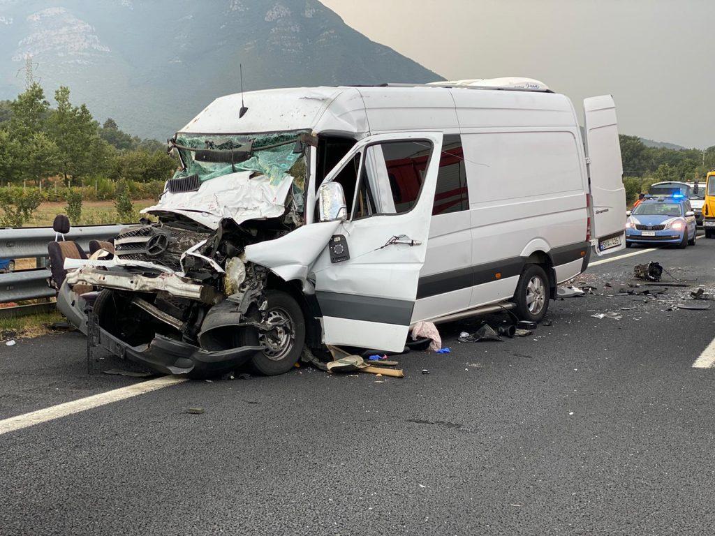 Incidente tra San Vittore e Caianello, A1 bloccata - LeggoCassino.it